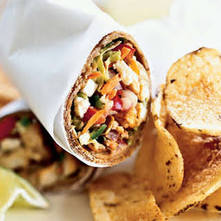 Spiced Fish Wraps with Chile-Lime Slaw.