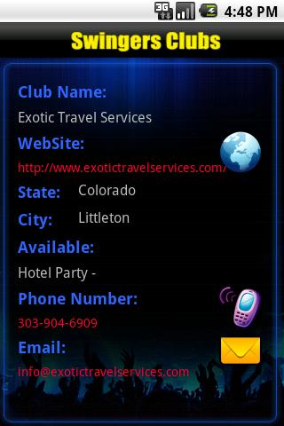 Swingers Club - screenshot