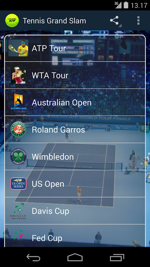 Tennis Grand Slam - screenshot