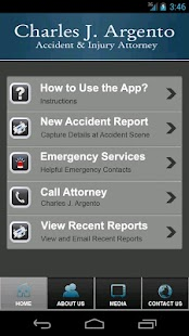 Charles Argento Accident App- screenshot thumbnail