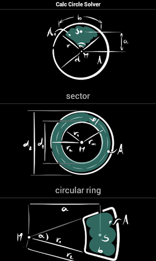 Calc Circle Solver
