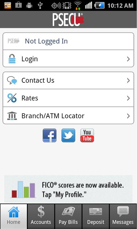 PSECU Mobile+ - screenshot