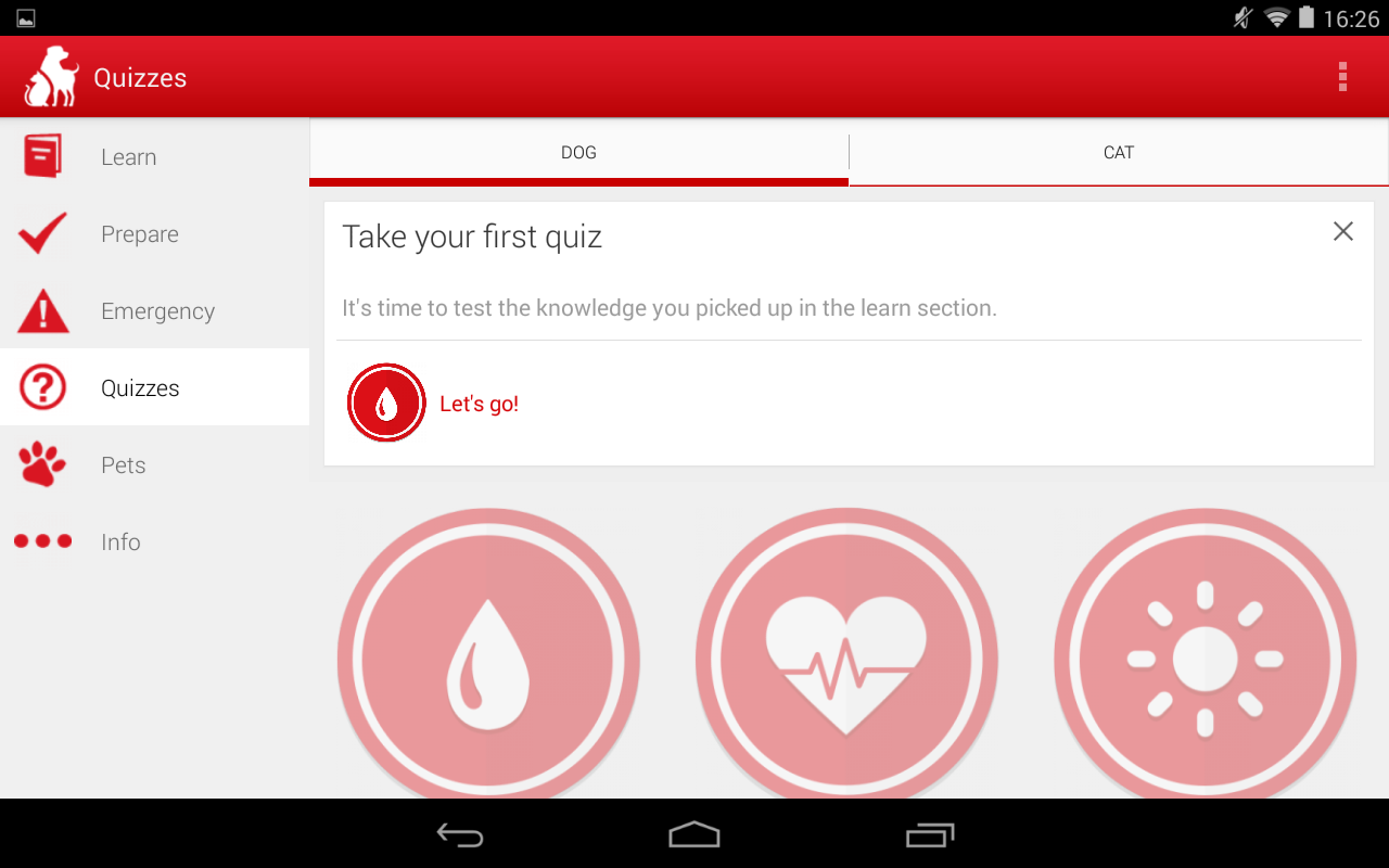 Pet First Aid - Red Cross - screenshot