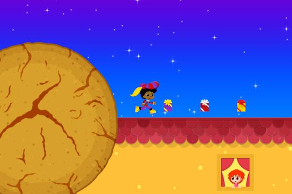 Sinterklaas Spel met Pepernoot - screenshot