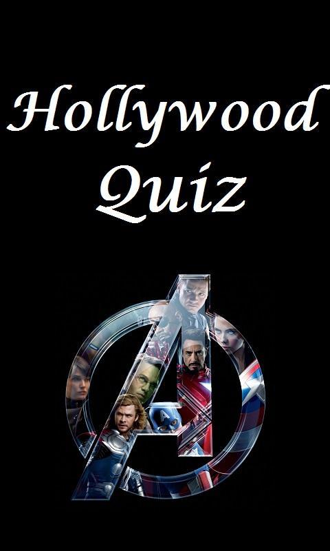 Hollywood Quiz - screenshot