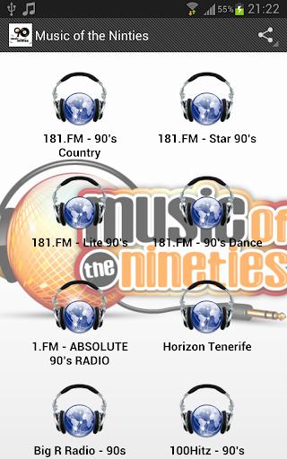 Music of the Ninties