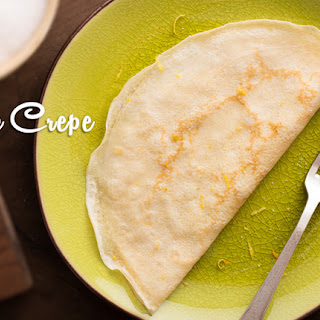 Basic Coconut Flour Crepe