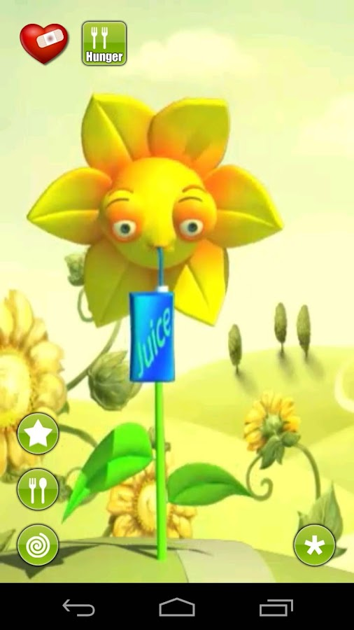 Talking Sonny Sunflower- screenshot
