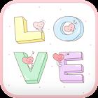 LOVE go locker theme icon