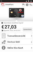 Screenshot of Vodafone SmartPass NL