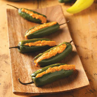 Grilled Stuffed Jalapenos.