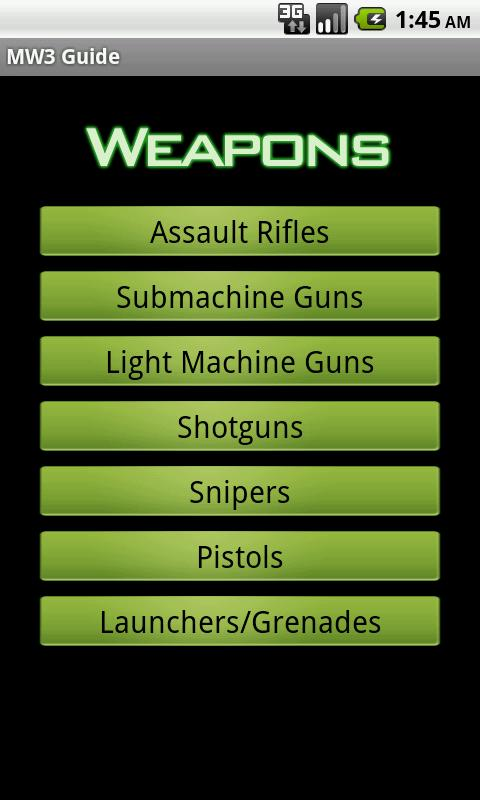 MW3 Guide - screenshot