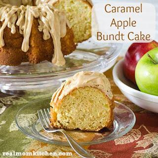Caramel Apple Bundt Cake.