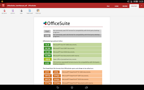 OfficeSuite + PDF Editor Screenshot 31