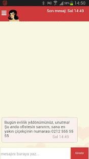 Merve'yi tavla (Sanal asistan) Ekran Görüntüsü