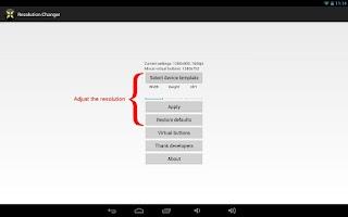 Screenshot of NOMone Resolution Changer