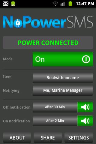 NoPowerSMS