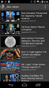 Alex Jones' InfoWars- screenshot thumbnail