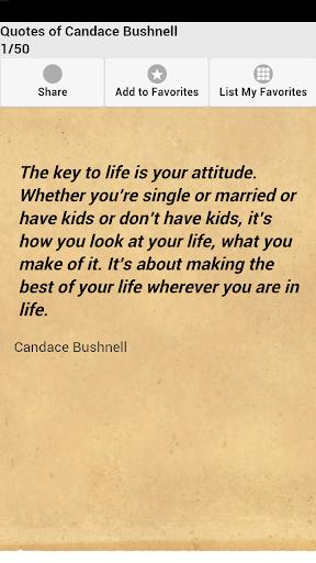 Quotes of Candace Bushnell