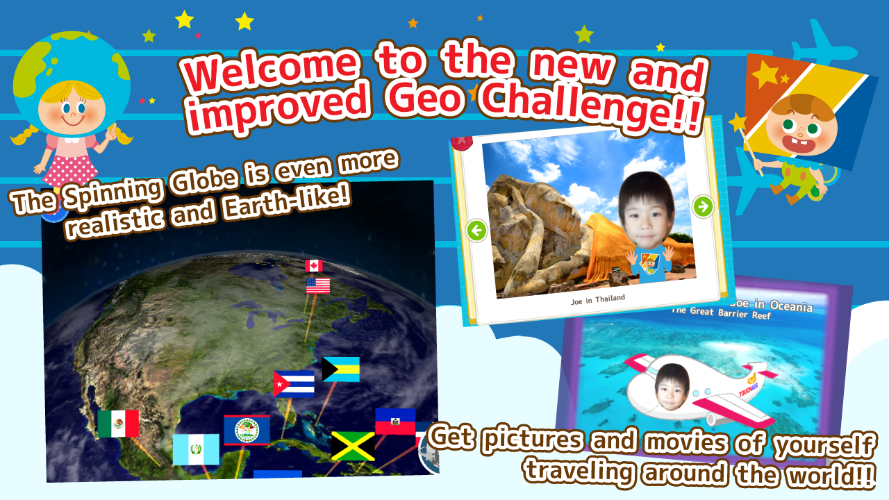 Geo Challenge for Kids - screenshot