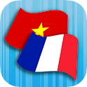 French Vietnamese Translator icon