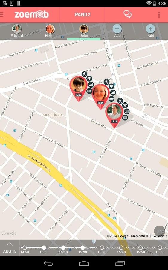 Family Locator - screenshot