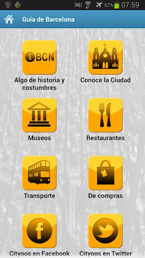 Guía Viaje Barcelona - Cityoos