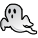 File Expert Ghost Black Theme logo