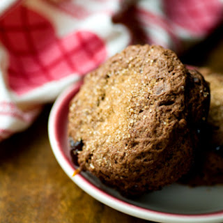 Chocolate Cherry Scones With Cinnamon-orange Butter