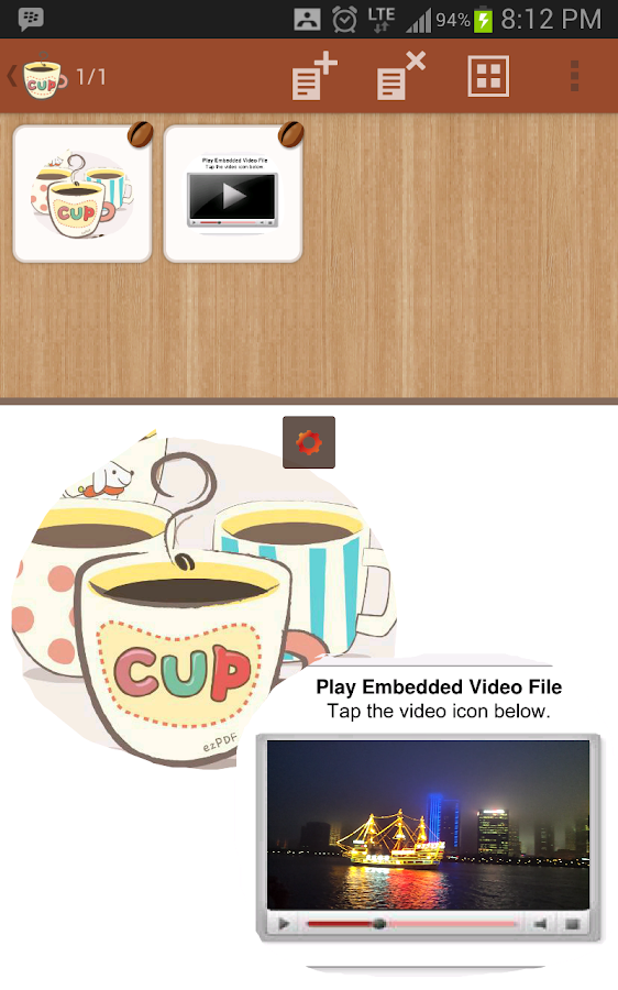 ezPDF Cup - PDF Scanner & Clip - screenshot