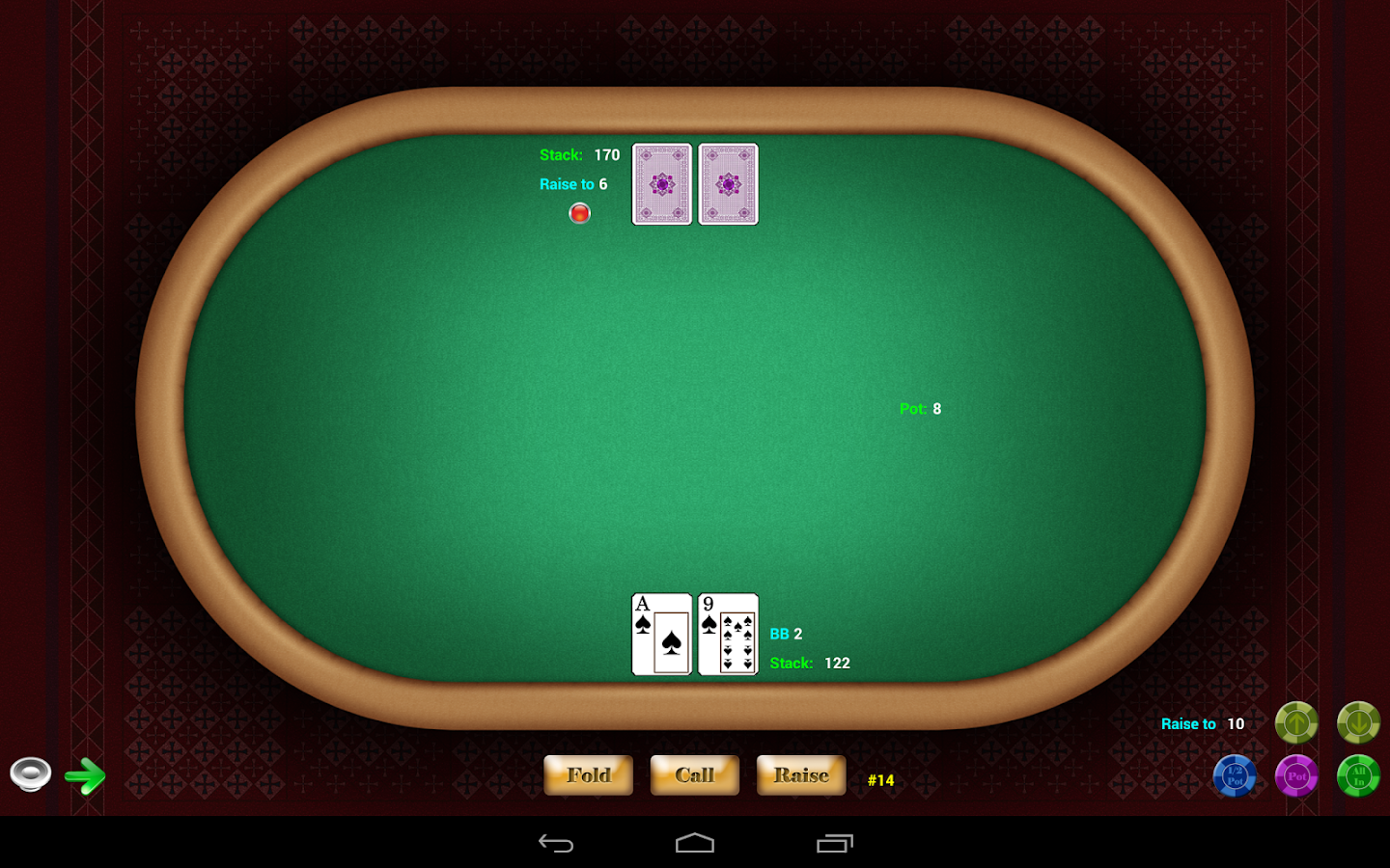Texas Hold'em Poker- screenshot