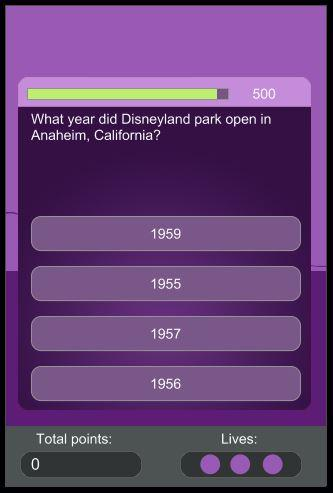 Theme Park Trivia - screenshot