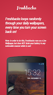 Freshbacks - Daily Wallpapers - screenshot thumbnail
