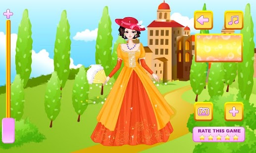 Medieval Gowns Dress Up - screenshot thumbnail