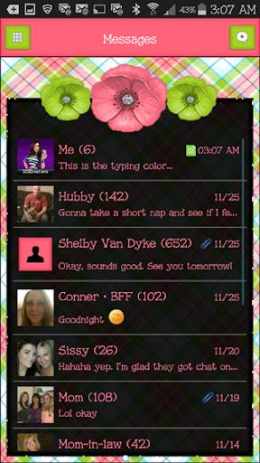 GO SMS THEME - SCS416