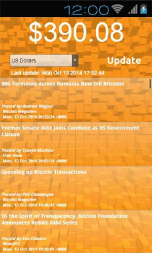 Bitcoin Feed