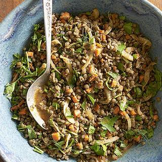 Caramelized Veggie Lentil Salad.