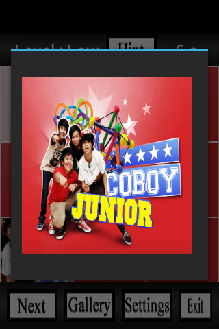 Coboy Junior Puzzle Wallpaper - screenshot