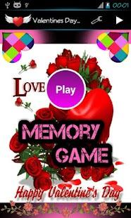 Valentine's Day Memory Game