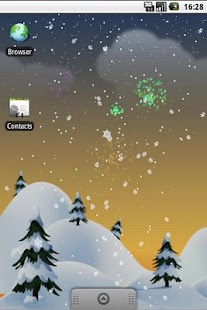 Winter Snow PRO Live Wallpaper- screenshot thumbnail