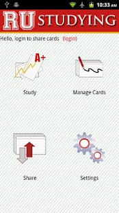 RU Studying Custom Flashcards - screenshot thumbnail