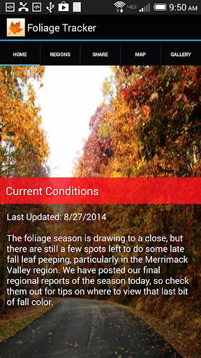 NH Foliage Tracker