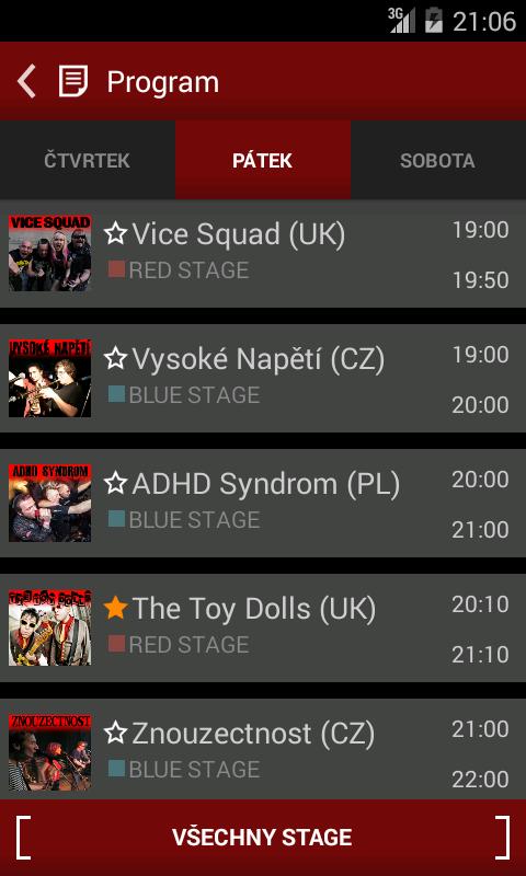 Pod Parou 2014 - screenshot