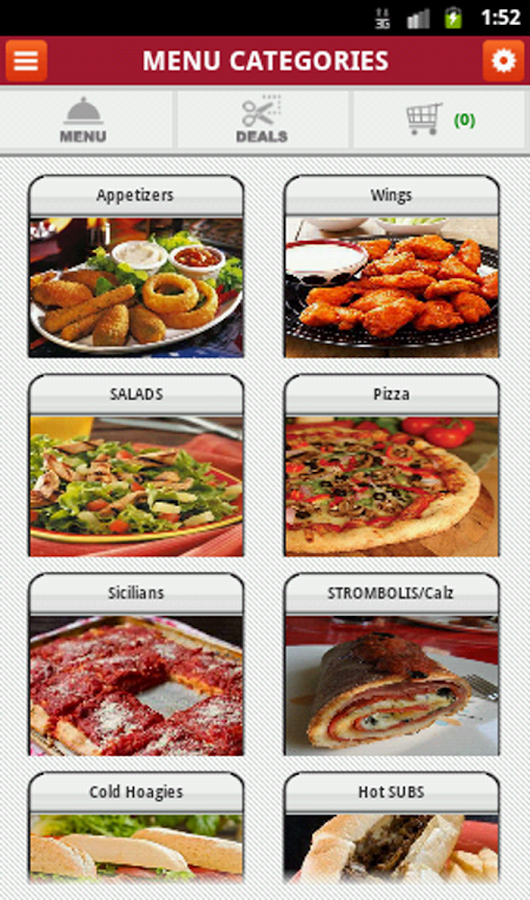 Luigis Pizzeria- screenshot