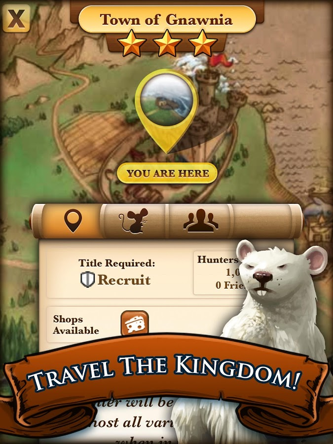 MouseHunt - screenshot