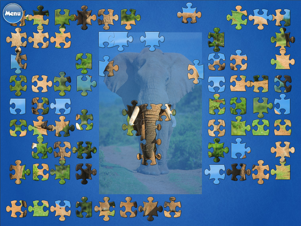 Jigsaw World- screenshot