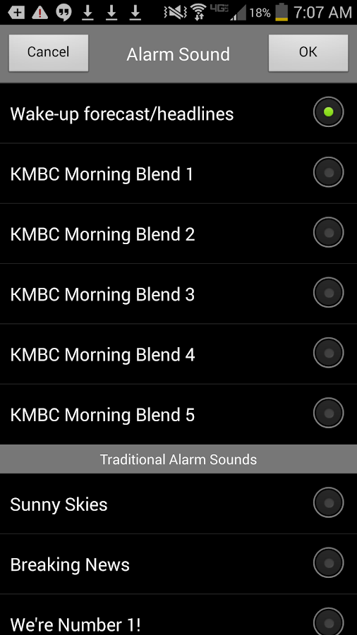 Alarm Clock KMBC 9 News- screenshot
