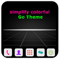 simplify colorful Go Theme icon