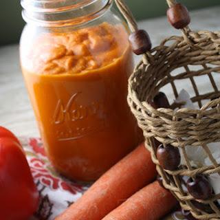 Easy Roasted Vegetable Blender Pasta Sauce Recipe