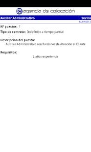 Agencia de Colocación- screenshot thumbnail